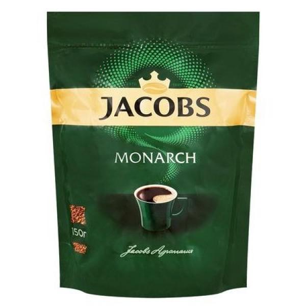 Кофе растворимый Jacobs Monarch, пакет, 150 г